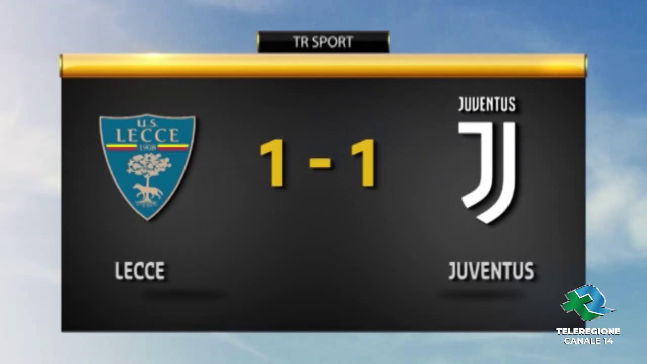 Lecce - Juventus 1-1