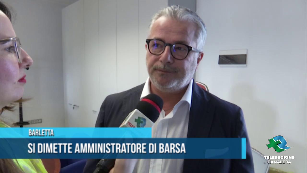 Si dimette l'amministratore di Barsa