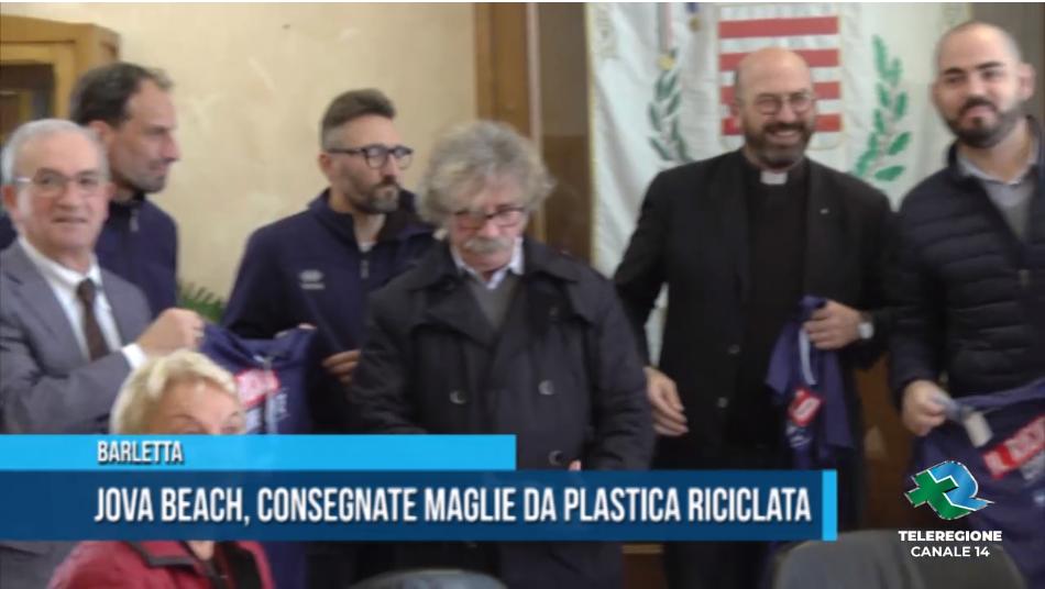 maglie di plastica riciclata