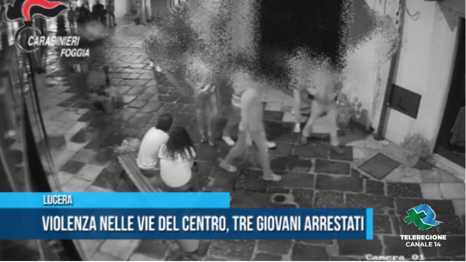 tre giovani arrestati