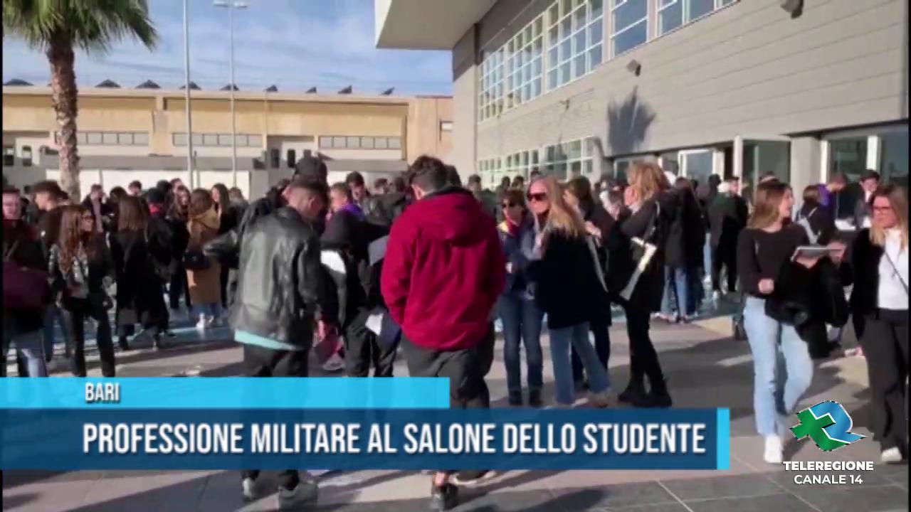 Professione militare al Salone dello Studente