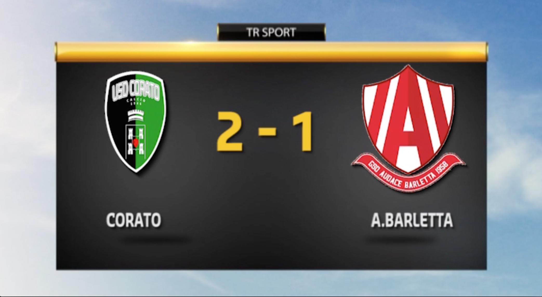 Corato - A. Barletta 2-1