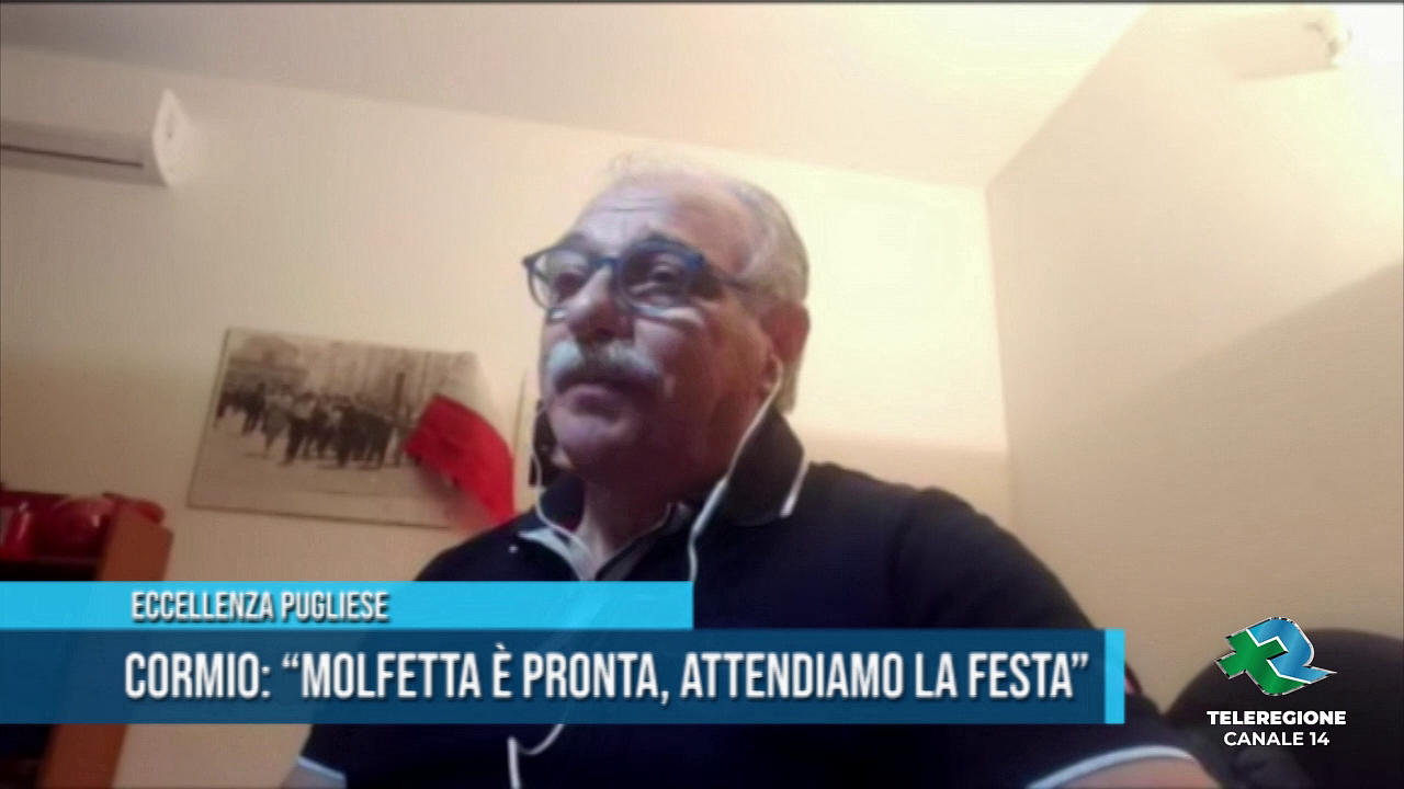ennio cormio presidente Molfetta Calcio