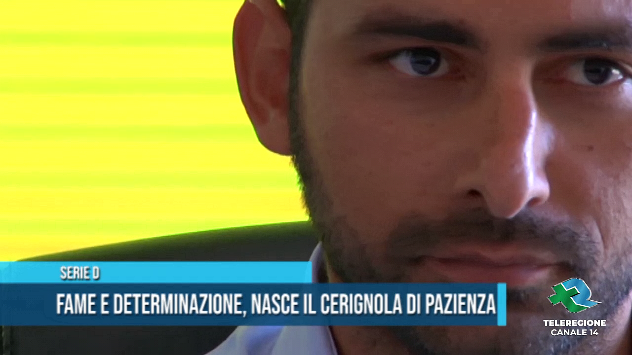 MICHELE PAZIENZA ALLENATORE CERIGNOLA